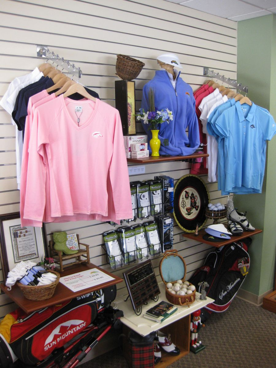 Our Golf Shop offers top tier products and exceptional services.